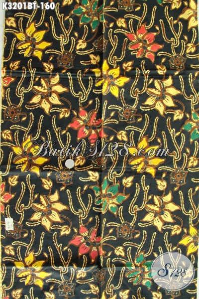 Kain Batik Solo Motif Terbaru, Produk Kain Batik Bahan Pakaian Kerja Wanita Dan Pria Kantoran Proses Kombinasi Tulis Hanya 160 Ribu