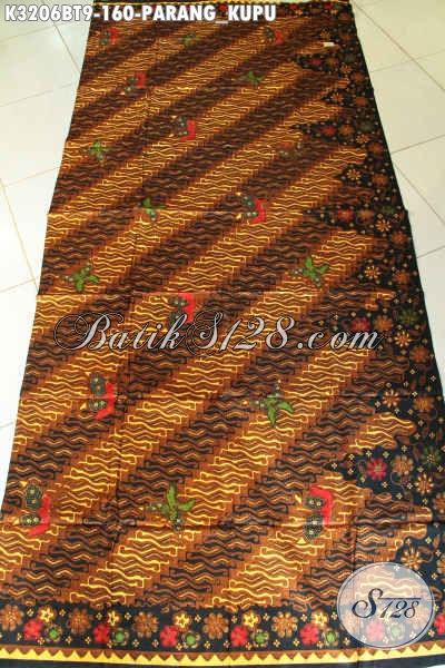 Batik Kain Parang Kupu Nan Istimewa, Batik Halus Mewah Bahan Pakaian Nan ELegan, Tampil Lebih Menawan
