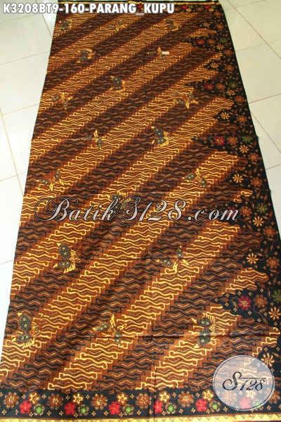 Jual Online Kain Batik Jawa Terbaru, Batik Kombinasi Tulis Trend Terkini Bahan Pakaian Wanita Pria Kantoran, Penampilan Makin Sempurna Hanya 100 Ribuan [K3208BT-240x115cm]
