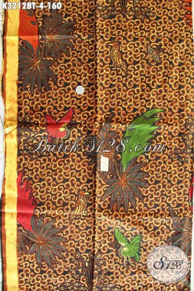 Batik Klasik Solo Kombinasi Tulis, Batik Halus Kombinasi Tulis, Cocok Banget Untuk Baju Kerja Kantoran Tampil Gagah Dan Tampan [K3212BT-240x115cm]