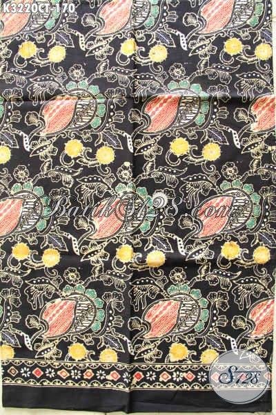 Agen Batik Paling Lengkap Dan Up To Date, Sedia Batik Istimewa Proses Cap Tulis Kwalitas Bagus Buatan Solo Motif Kekinian Harga 170 Ribu [K3220CT-200x110cm]