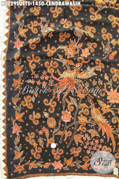 Toko Batik Online Terlengkap, Sedia Batik Kain Istimewa Bahan Sutra Adem Proses Tulis Soga Motif Burung Cendrawasih Kwalitas Bagus Bahan Adem Hanya 1 Jutaan