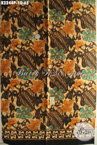 Kain Batik Printing Bahan Busana Kerja Kantoran Dengan Motif Terkini Proses Printing Harga Murmer Kwalitas Istimewa [K3244P-200x115cm]