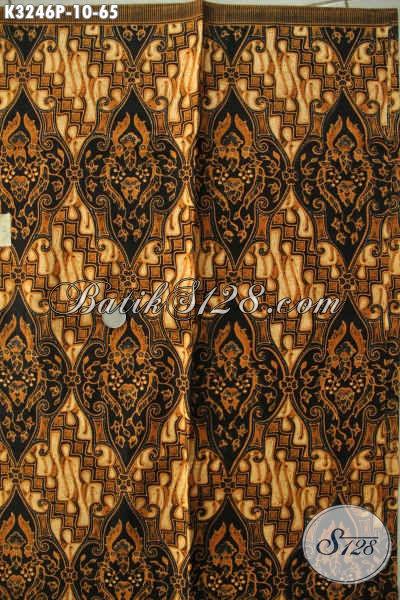 Produk Batik Kain Motif Klasik, Batik Halus Dan Berkelas Proses Printing, Cocok Banget Untuk Seragam Kerja [K3246P-200x115cm]