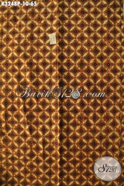 Batik Kain Halus Proses Printing Motif Klasik, Cocok Untuk Kemeja Pria Tampil Elegan Dan Gagah Harga 65 Ribu Saja [K3248P-200x115cm]