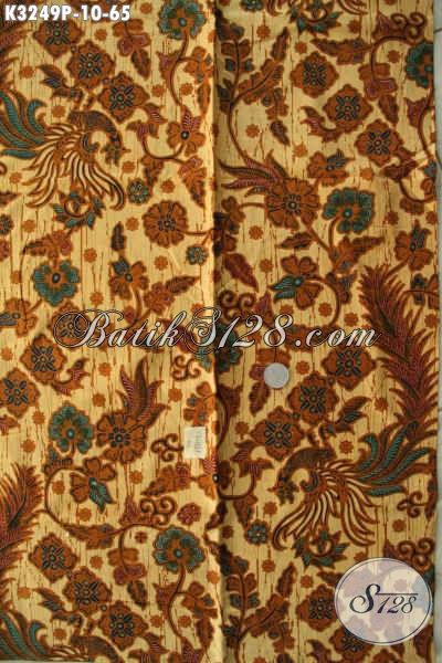 Batik Kain Halus Tren Motif Terkini, Batik Printing Nan Elegan Bahan Busana Kerja Kwalitas Istimewa