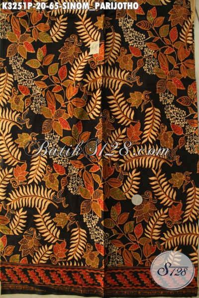 Kain Batik Klasik Proses Printing, Batik Halus Motif Sinom Parijotho Kwalitas Bagus Hanya 65K