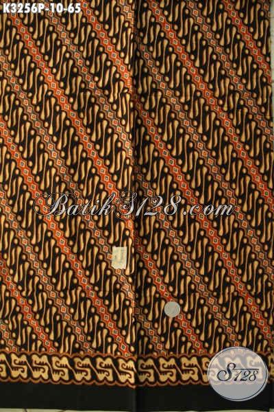 Produk Kain Batik Motif Klasik Printing Solo Jawa Tengah, Batik Halus Bahan Busana Formal Nan Elegan Dan Mewah Hanya 65K