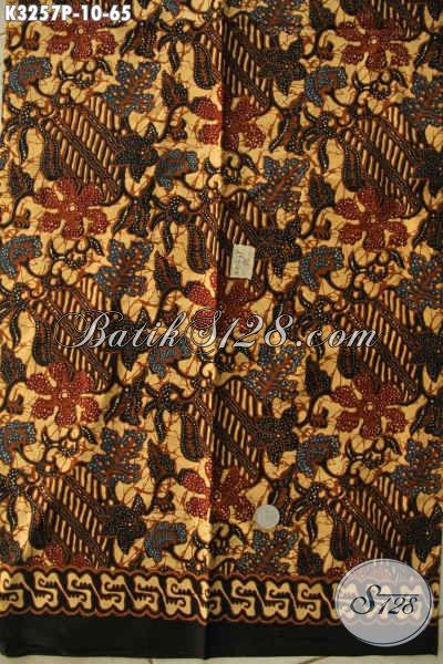 Batik Kain Istimewa, Batik Halus Berkelas Bahan Pakaian Motif Klasik Printing, Jual Eceran Harga Grosir [K3257P-200x115cm]