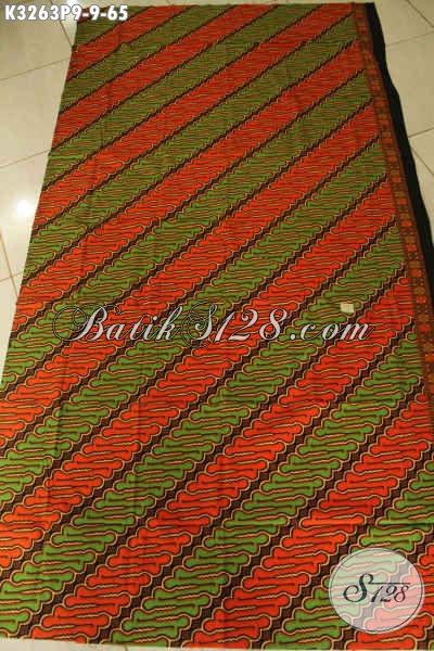Kain Batik Printing Motif Parang Klasik, Batik Solo Asli Bahan Busana Pria Kwalitas Istimewa Harga Biasa