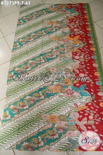Motif Kain Batik Solo Terkini, Batik Elegan Klasik Nan Berkelas Proses Printing, Bahan Pakaian Modis Dan Mewah Harga Murah