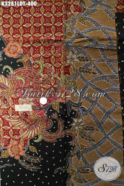 Batik Kain Elegan Motif Bagus Proses Tulis, Kain Batik Desain Pola Kemeja Lengan Pendek, Cocok Untuk Pakaian Kerja