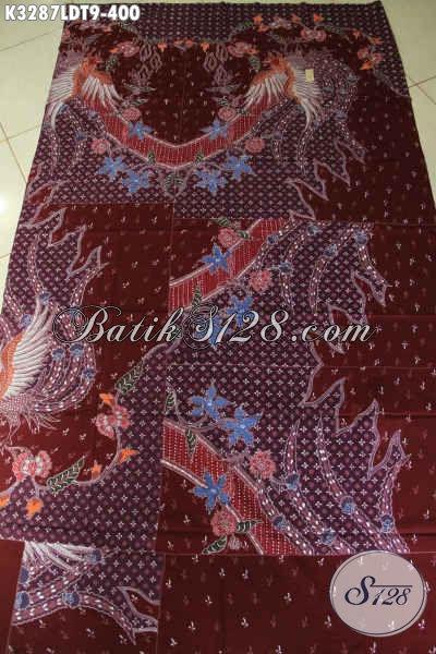 Batik Kain Solo Elegan Kwalitas Premium, Batik Tulis Halus Dengan Pola Kemeja Lengan Pendek Motif Berkelas, Di Jual Online 400 Ribu