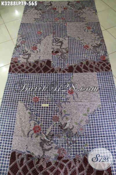 Produk Terbaru Kain Batik Pola Kemeja Cowok Lengan Panjang, Batik Halus Mewah Tulis Asli Motif Kekinian Harga 500 Ribuan [K3288LPT-200x110cm]