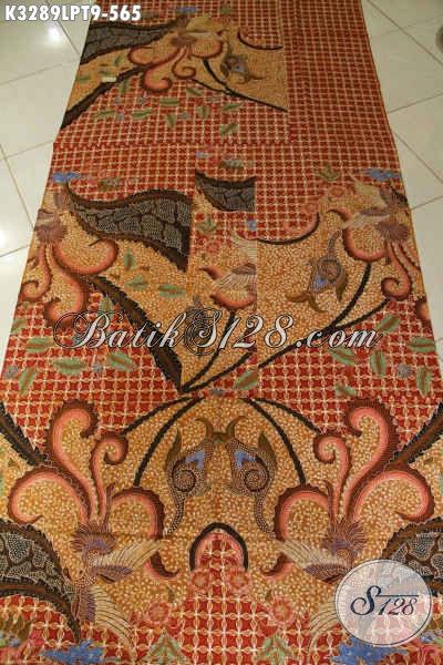 Kain Batik Tulis Premium Bahan Baju Kerja, Batik Solo ELegan Motif Klasik Pola Kemeja Lengan Panjang Harga 500 Ribuan