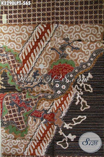 Jual Kain Batik Bahan Seragam Kerja Pria Kantoran, Batik Tulis Pola Kemeja Lengan Panjang Motif Klasik Nan Elegan, Cocok Untuk Acara Resmi