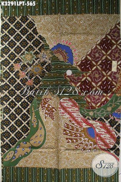 Batik Online Pola Kemeja Lengan Panjang, Batik Tulis Premium Motif Bagus Elegan Dan Mewah, Pas Untuk Busana Resmi