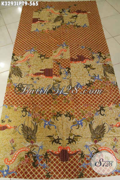 Jual Kain Batik Bagus Halus Dan Adem Pola Kemeja Lengan Panjang Pria, Batik Tulis Premium Harga 500 Ribuan Dengan Motif Tren Masa Kini [K3293LPT-200x110cm]