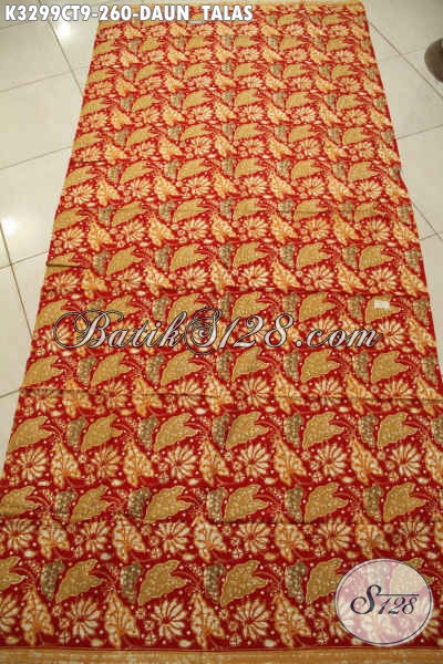 Produk Kain Batik Istimewa Motif Daun Talas, Batik Halus Cap Tulis Untuk Busana Resmi Wanita Pria Tampil Berkelas Dan Mewah Hanya 260K