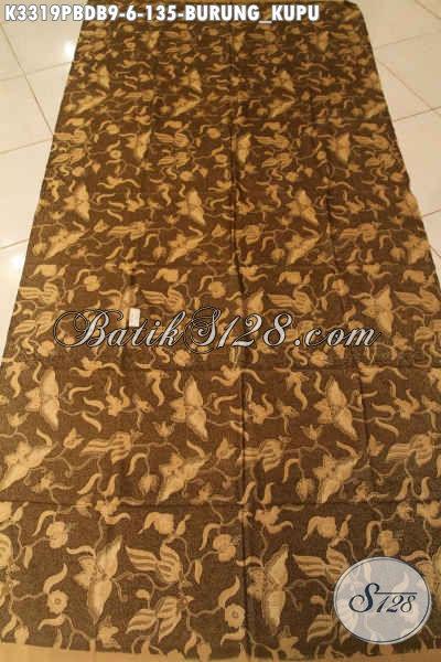 Batik Kain Dolby Proses Printing Motif Kupu, Batik Solo Nan Berkelas Kwalitas Istimewa Cocok Untuk Baju Pesta Dan Busana Acara Santai Harga 100 Ribuan