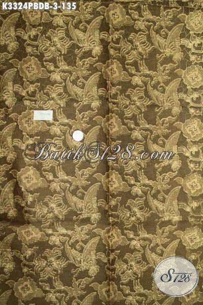 Koleksi Kain Batik Dolby Bahan Busana Pria Dan Wanita Terkini, Batik Solo Printing Cabut Motif Kekinian, Pas Untuk Pakaian Santai Dan Resmi [K3324PBDB-240x110cm]