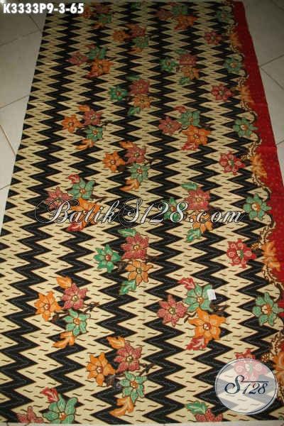 Kain Batik Motif Bunga Dengan Sentuhan Etnik, Batik Kain Halus Proses Printing Halus Bahan Pakaian Kerja Wanita Pria Menunjang Penampilan Lebih Elegan Dan Mewah Hanya 65K