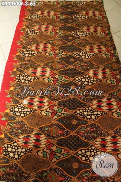 Kain Batik Bahan Baju Resmi, Batik Halus Untuk Pakaian Kerja Nan Elegan, Hadir Dengan Motif Mewah Proses Printing Hanya 65K