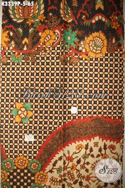 Jual Kain Batik Elegan Mewah Proses Printing, Batik Kain Nan Istimewa Motif Bagus Kwalitas Bagus Harga Terjangkau, Cocok Untuk Seragam Kerja Kantoran