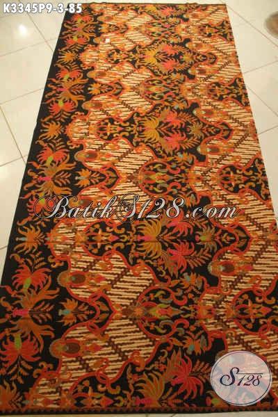 Kain Batik Printing Elegan Motif Klasik, Batik Halus Bahan Busana Formal Nan Mewah Dan Berkelas, Pria Tampil Gagah Berwibawa