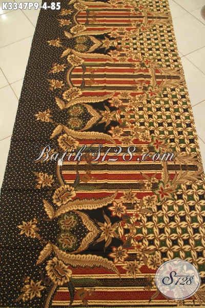 Produk Kain Batik Mewah Motif ELegan Klasik, Batik Printing Solo Kekinian Kwalitas Istimewa, Cocok Untuk Pakaian Kerja Dan Kondangan Lengan Panjang Tampil Berkelas