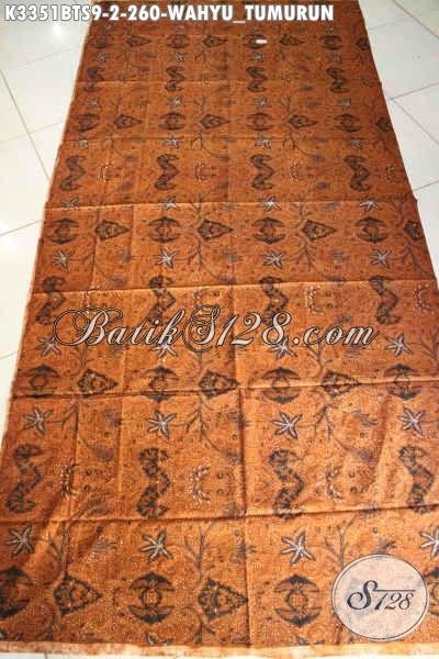 Kain Batik Lawasan Motif Wahyu Tumurun, Kain Batik Klasik Kombinasi Tulis Elegan Dan Mewah, Cocok Untuk Seserahan Pengantin Jawa Tengah
