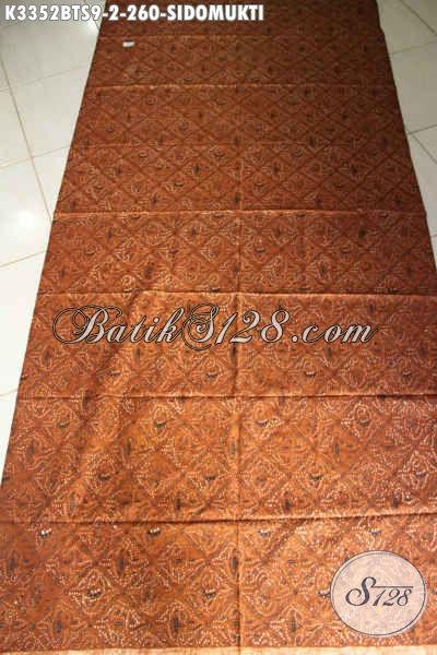 Kain Batik Lawasan Motif Sidomukti, Batik Elegan Klasik Untuk Seserahan Pengantin Jawa Tengah Kwalitas Premium Harga 260K