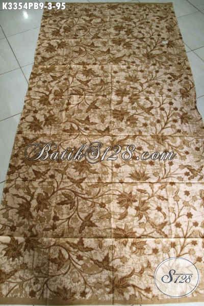 Kain Batik Lawasan Proses Kombinasi Tulis, Batik Elegan Bahan Busana Bagus Kwalitas Istimewa Hanya 95K