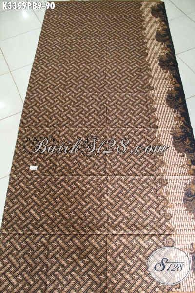 Batik Kain Motif Klasik Kombinasi Tulis, Batik Solo Halus Jawa Tengah Nan Berkelas Untuk Busana Resmi Dan Mewah Hanya 90 Ribu Saja