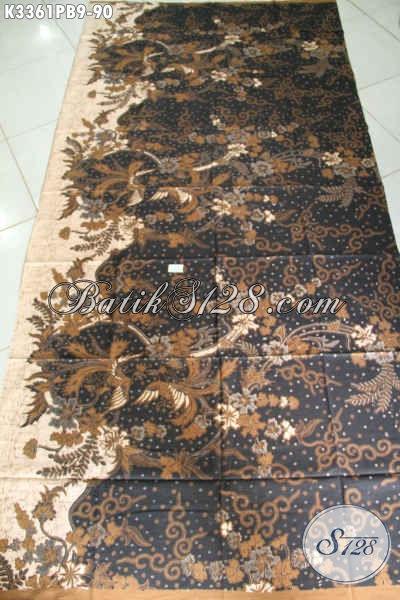 Kain Batik Jawa Tengah Elegan Mewah Halus Proses Kombinasi Tulis, Batik Kain Lawasan Nan Istimewa Buatan Solo Asli Hanya 90K