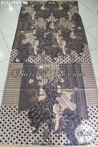 Kain Batik Jawa Tengah Nan Halus Motif Lawasan, Batik Elegan Proses Kombinasi Tulis Pilihan Tepat Untuk Baju Kerja Nan Mewah Berkelas