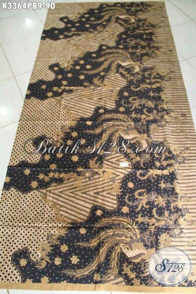 Produk Kain Batik Elegan Halus Proses Kombinasi Tulis, Batik Istimewa Motif Lawasan Klasik Khas Jawa Tengah, Di Jual Online 90K