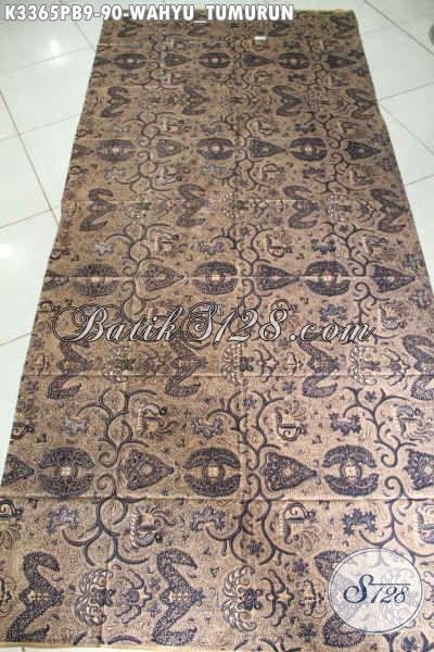 Jual Produk Kain Batik Klasik Lawasan Motif Wahyu Tumurun, Batik ELegan Bahan Jarik Dan Busana Formal Harga 90K