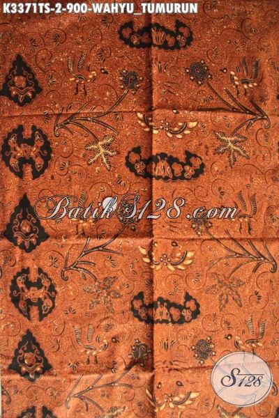 Kain Batik Mewah Mahal, Batik Jarik Solo Motif Klasik Wahyu Tumurun, Cocok Untuk Barang Seserahan Pengantin Adat Jawa