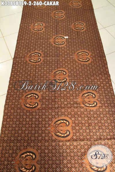Kain Batik Motif Cakar, Batik Halus Mewah Bahan Jarik Untuk Seserahan Atau Acara Adat Khas Jawa Tengah, Batik Lawasan Kombinasi Tulis Soga Harga 200 Ribuan
