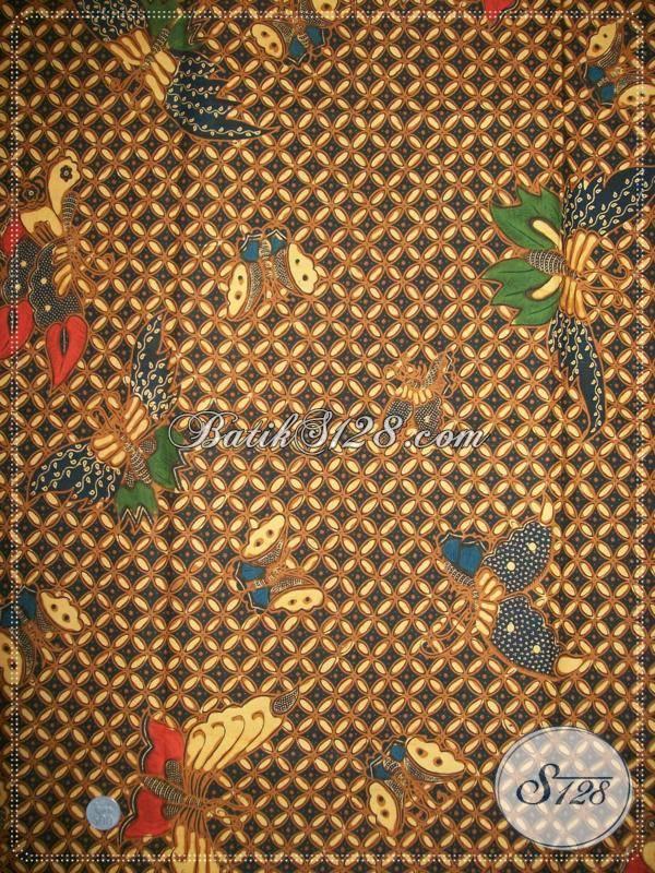 Kain Batik Motif Klasik Asli Dari Batik Solo,Toko Online Kain Jarik Motif Lawasan [K747BT]