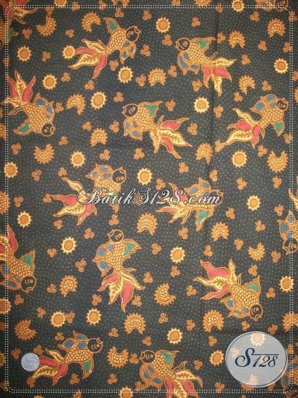 Batik Kain Bahan Busana Motif Klasik, Batik Cabut Tulis Mewah Harga Terjangkau