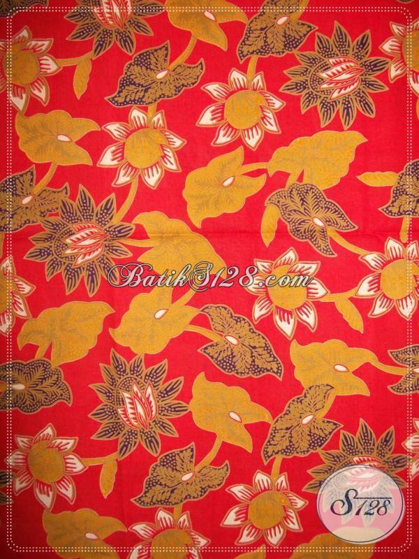 Bahan Batik Cantik Untuk Wanita Cantik Dan Energik [K767P]