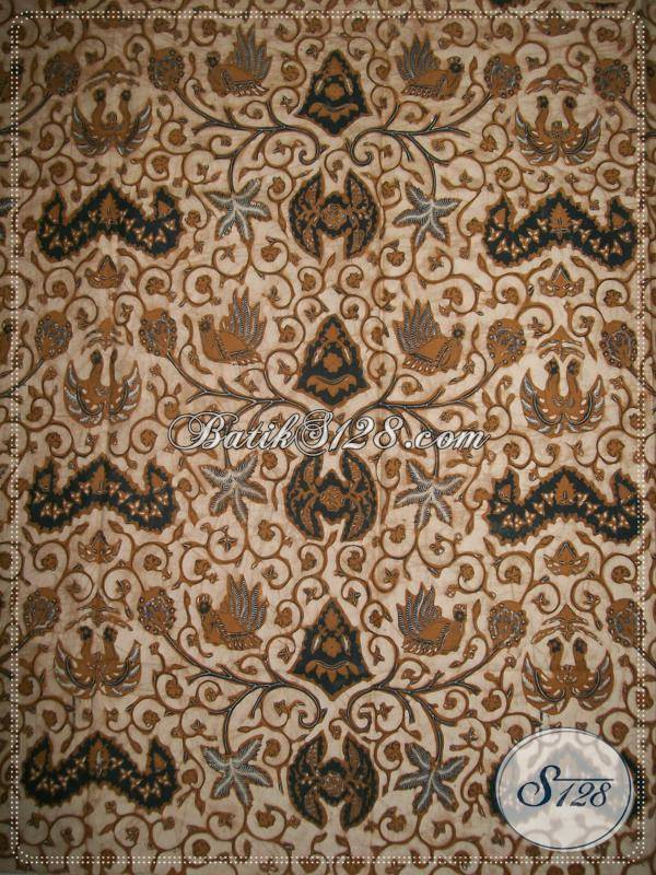 Batik Wahyu Tumurun Bledak, Bahan Kain Batik Klasik Lawasan Semi Tulis [K786BTP]