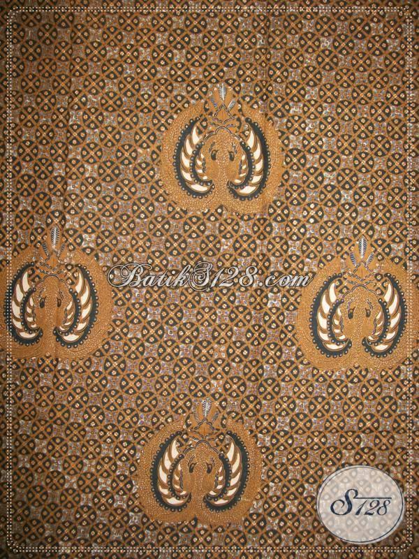 Kain Batik Klasik Halus Cakar Lar, Kain Panjang Bahan Katun Primisima Elegan Dan Eksklusif [K788BTP]