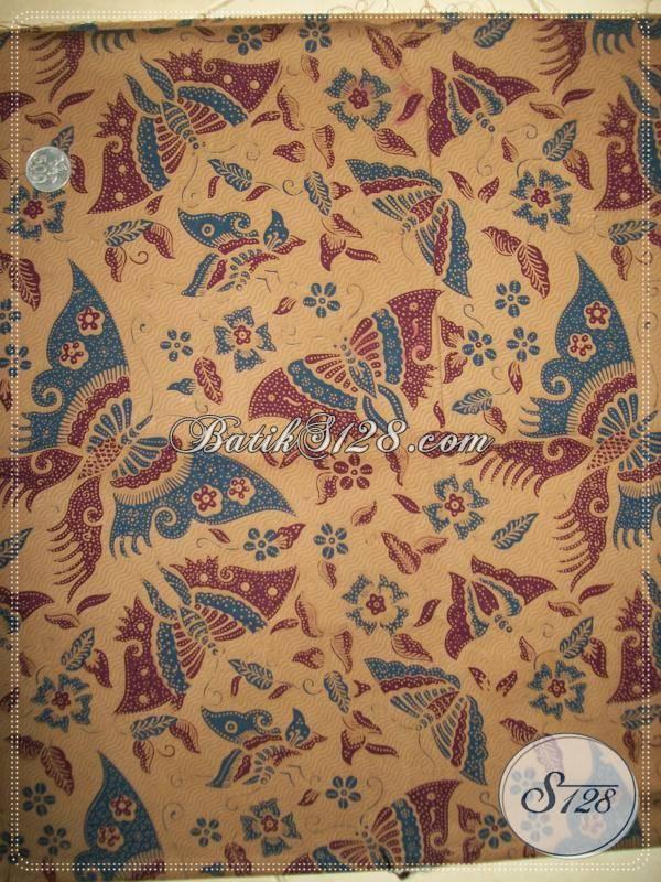 Kain Batik Murah Untuk Seragam Kantor,Bahan Batik Di Toko Batik Online Solo [K794P]