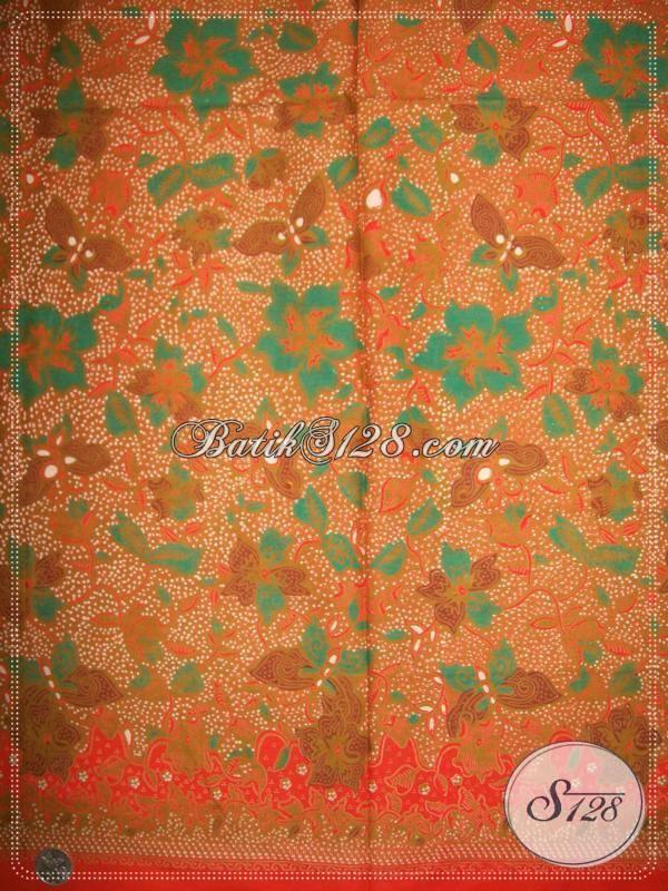 Batik Motif Floral Indah Dan Bahan Berkwalitas [K854P]
