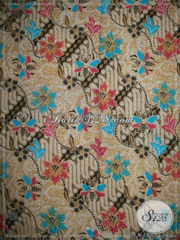 Penjual Batik Bahan Seragam Kerja Kain Batik Motif Unik Trendy