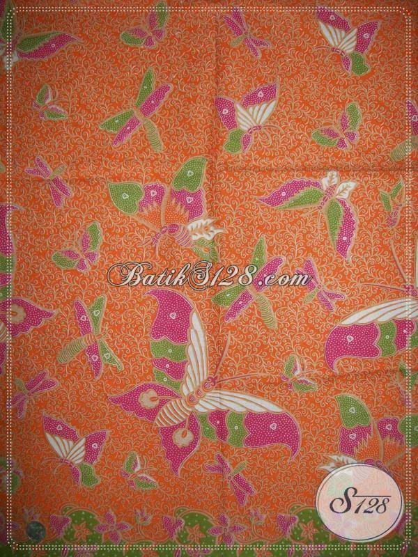 Kain Batik Murah Untuk Dress Batik Wanita Modern [K861P]