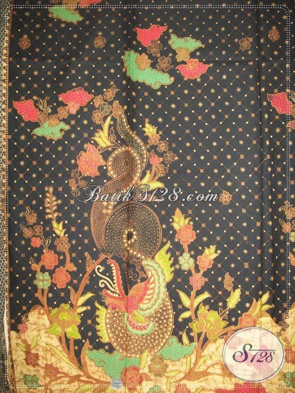 Batik Tulis Ini Dijual Di Inacraft 2013, Batik Tulis Solo Motif Naga Warna Hitam
